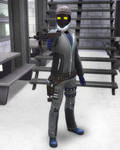 Gray Champion Shaken Dust Outfit 2