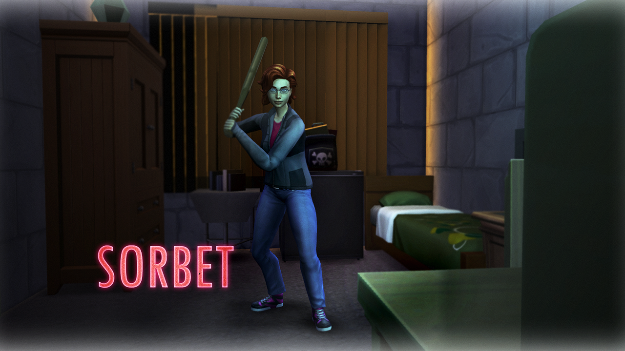 Sorbet Sims 4 Wallpaper