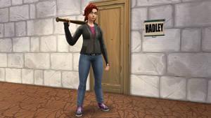 Hadley escapes her room