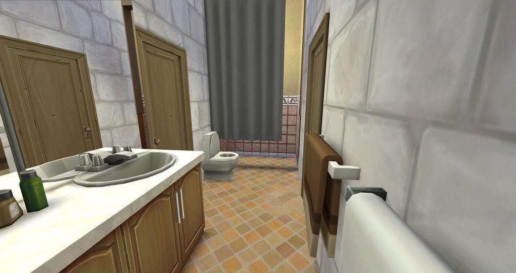 Shared bathrooom, angle 2