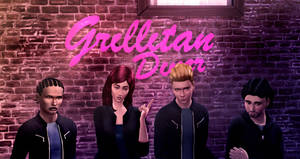 Atavera's Grillitan Diner sign reworked-The Sims 4
