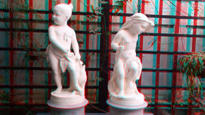 Hunter Boy and Fisher Girl 3D