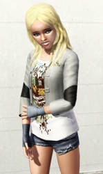Celia Winehart (redux) by BulldozerIvan