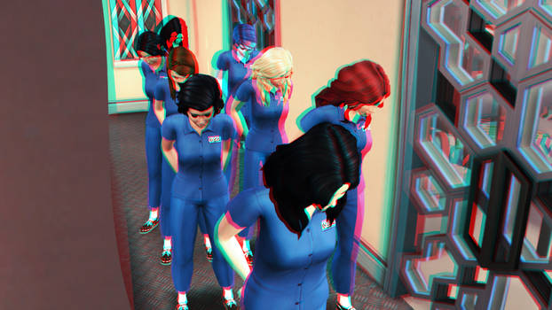 No Good Deed Goes Acknowledged - TS4 3D Red-Cyan