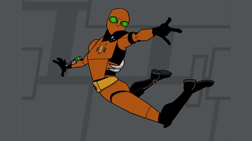 Marvel's Create Your Own Web Warrior - Ciem mod