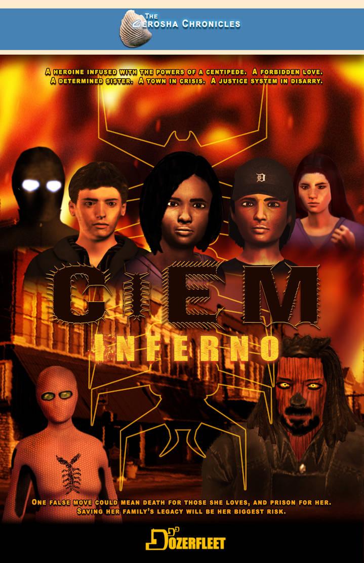Ciem Inferno Book Cover by BulldozerIvan