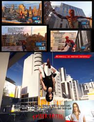 Percolation Warriors: Spider-Faith by BulldozerIvan