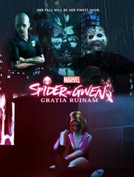 Spider-Gwen: Gratia Ruinam poster by BulldozerIvan