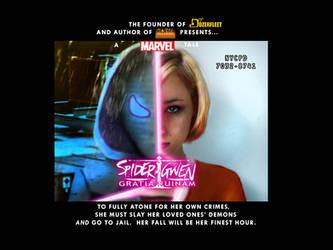 Spider-Gwen Gratia Ruinam Promo Card by BulldozerIvan
