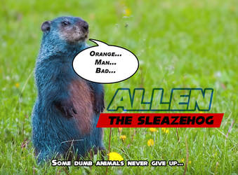 Live Action Allen the Sleazehog by BulldozerIvan