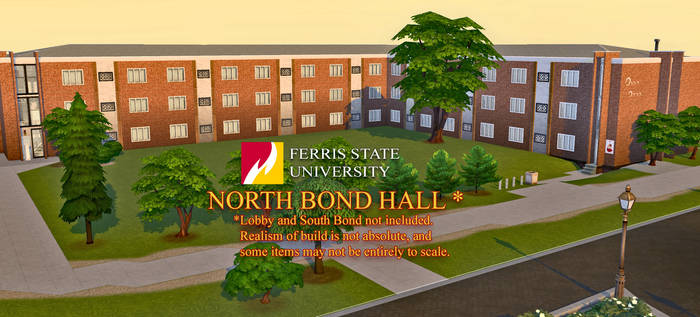 Ferris State N. Bond Hall for TS4 (no CC)