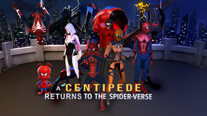 A Centipede Returns to the Spiderverse Wallpaper