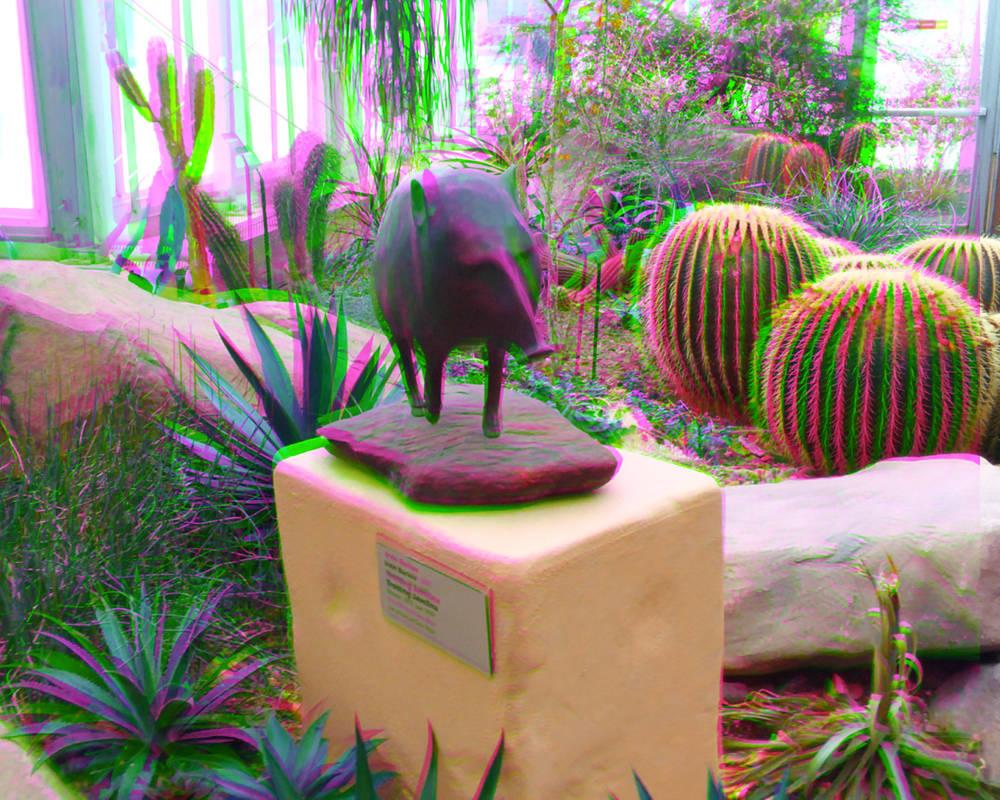 Hogging the Show 3D Trioscopics