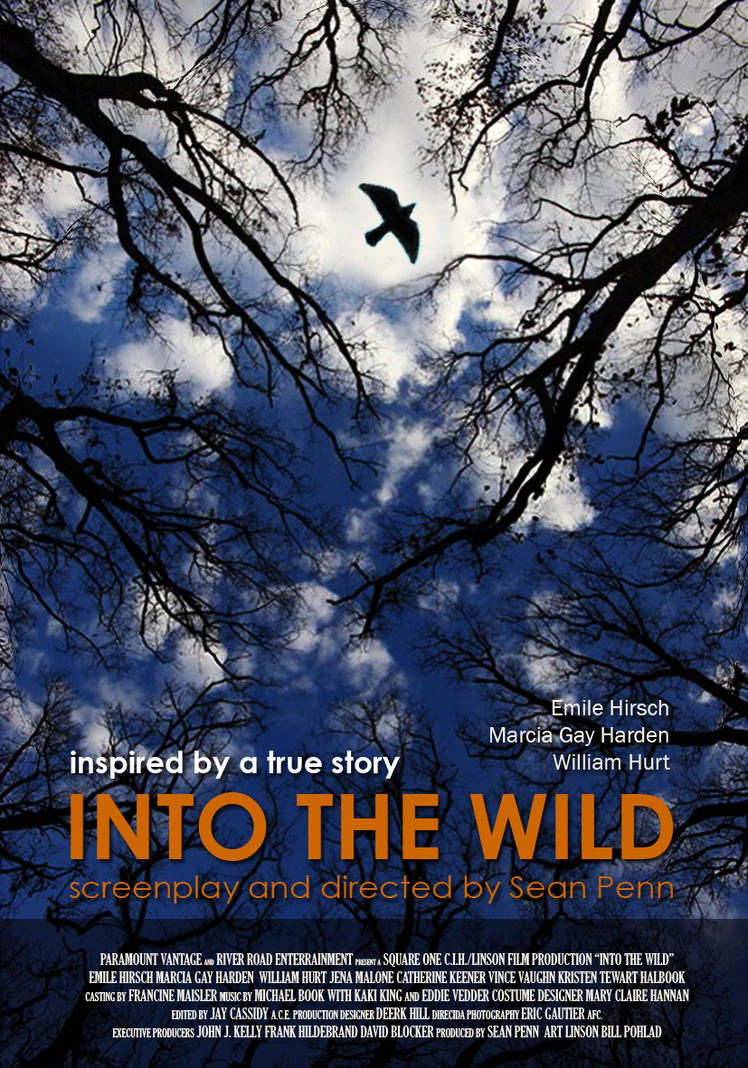 Into The Wild Movie Poster 2 by onur-aydin on DeviantArt