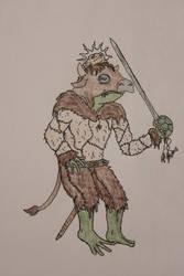 Grippli Druid