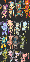 Adoptables Batch #2 - 15 to 30 Points {8/16} CLOSE