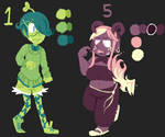 Mystery Adoptables for Leotalia and Triple-biscuit