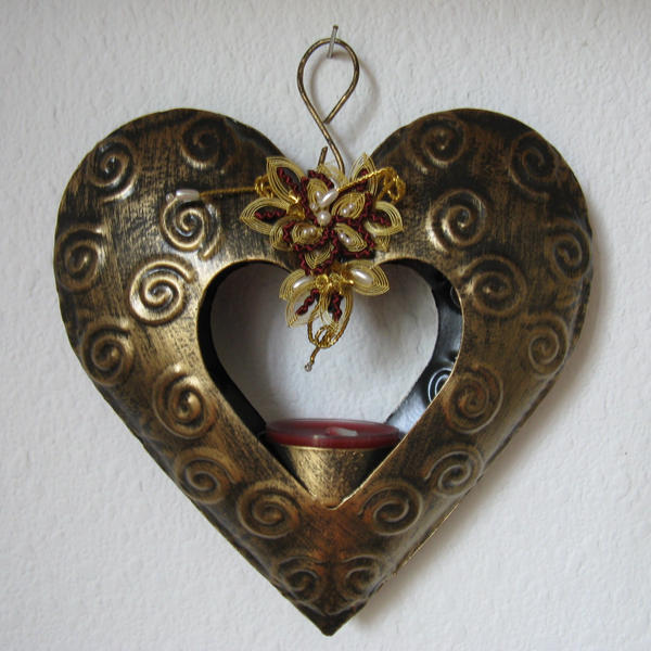 metallic heart - stock by stock-of-aestchen