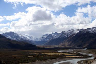 Glacier River Chalten Patagonia by XS-Tarsier