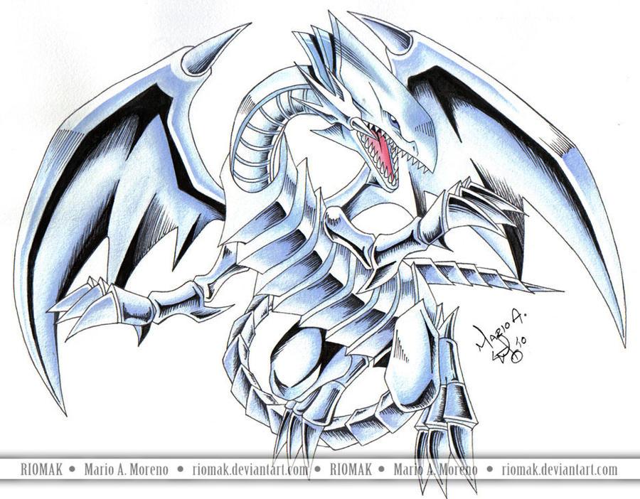 [Galeria] Blue-Eyes White Dragon Blue_Eyes_White_Dragon_5_by_Riomak