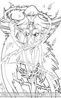 Cyber Harpie Lady by Riomak