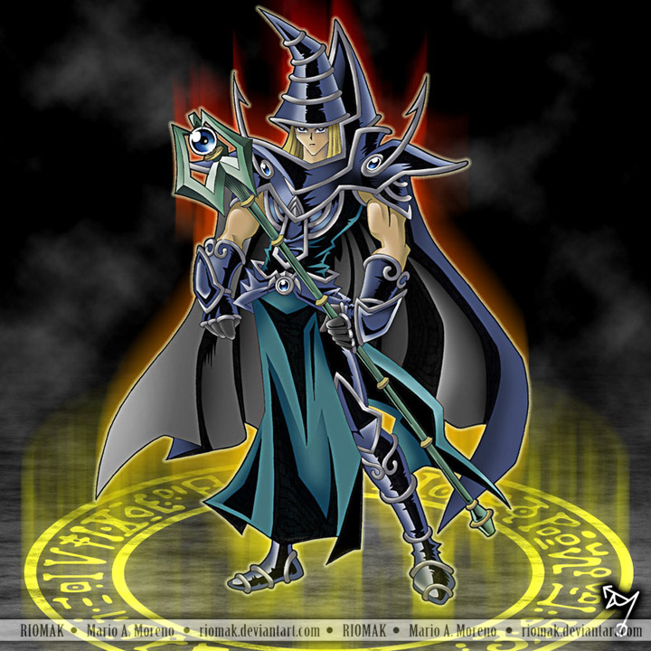 Sorcerer of Dark Magic  by RiomakYugioh Sorcerer Of Dark Magic Deck