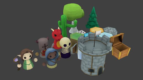 Dragon Islands 3D Assets by BarnarnarBunny