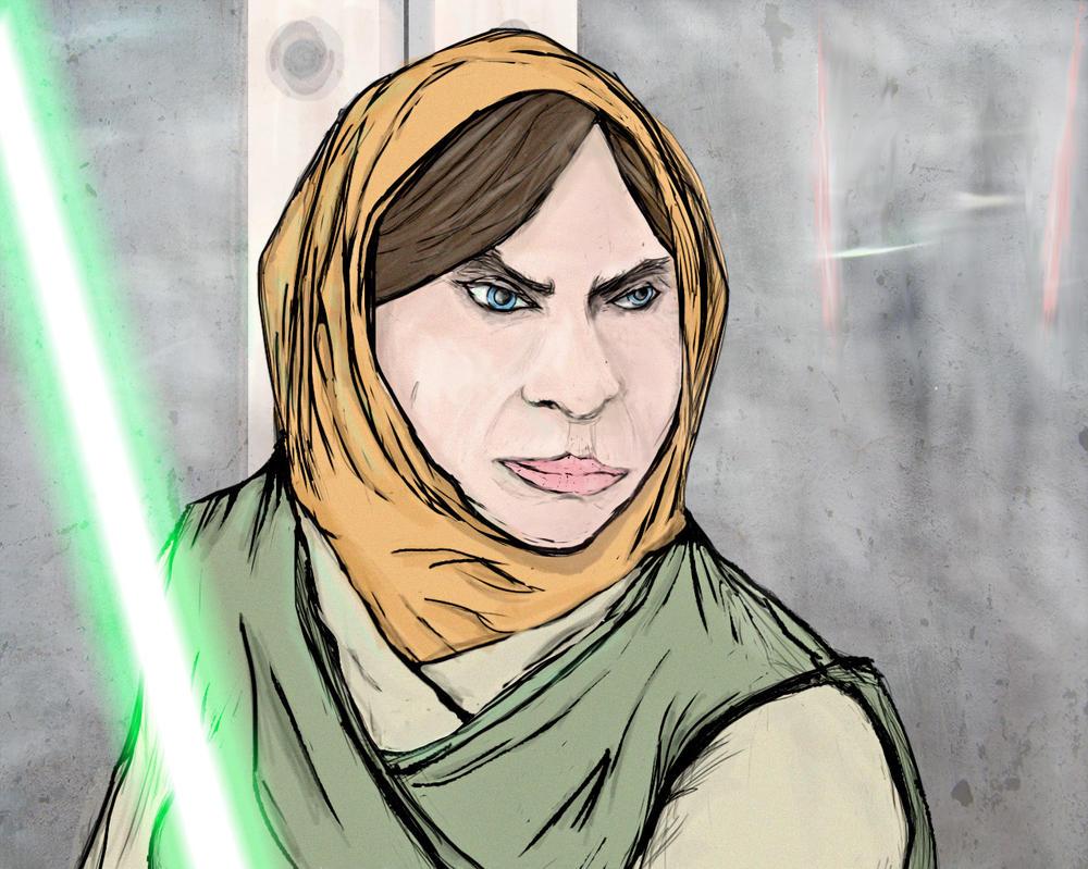 An Experienced Jedi by IAmAir