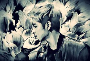 Junhoe (iKON) by miobitat