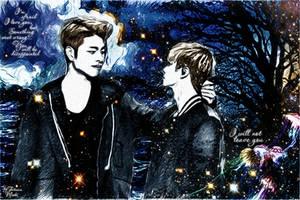 Junhoe and Jinhwan (iKON) by miobitat