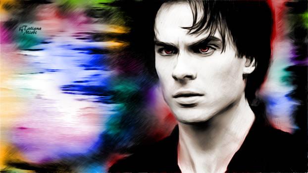 Damon Salvatore by miobitat
