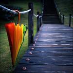 Rainbow umbrella part II by LadyAgnes