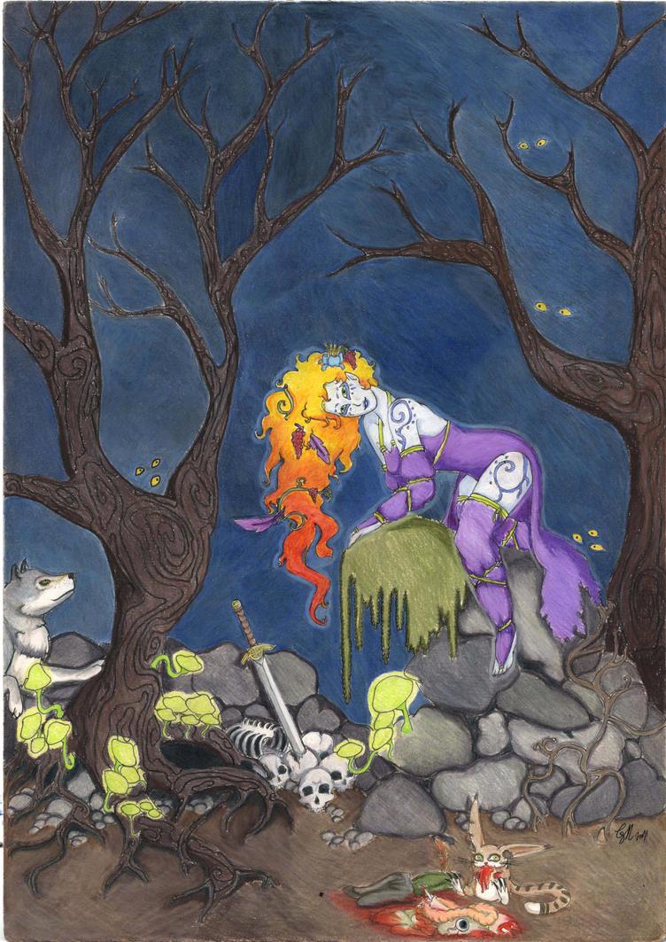 enchanted forest dragon original - photo #41