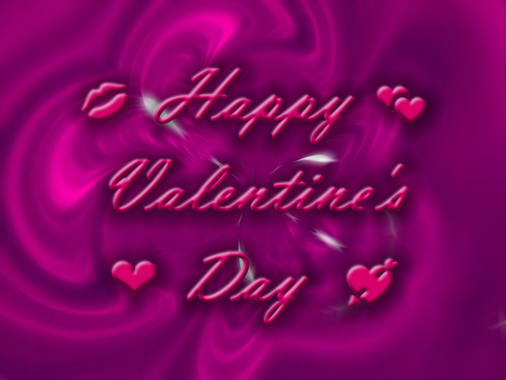 Happy Valentine's Day Wallpaper by MelMuff
