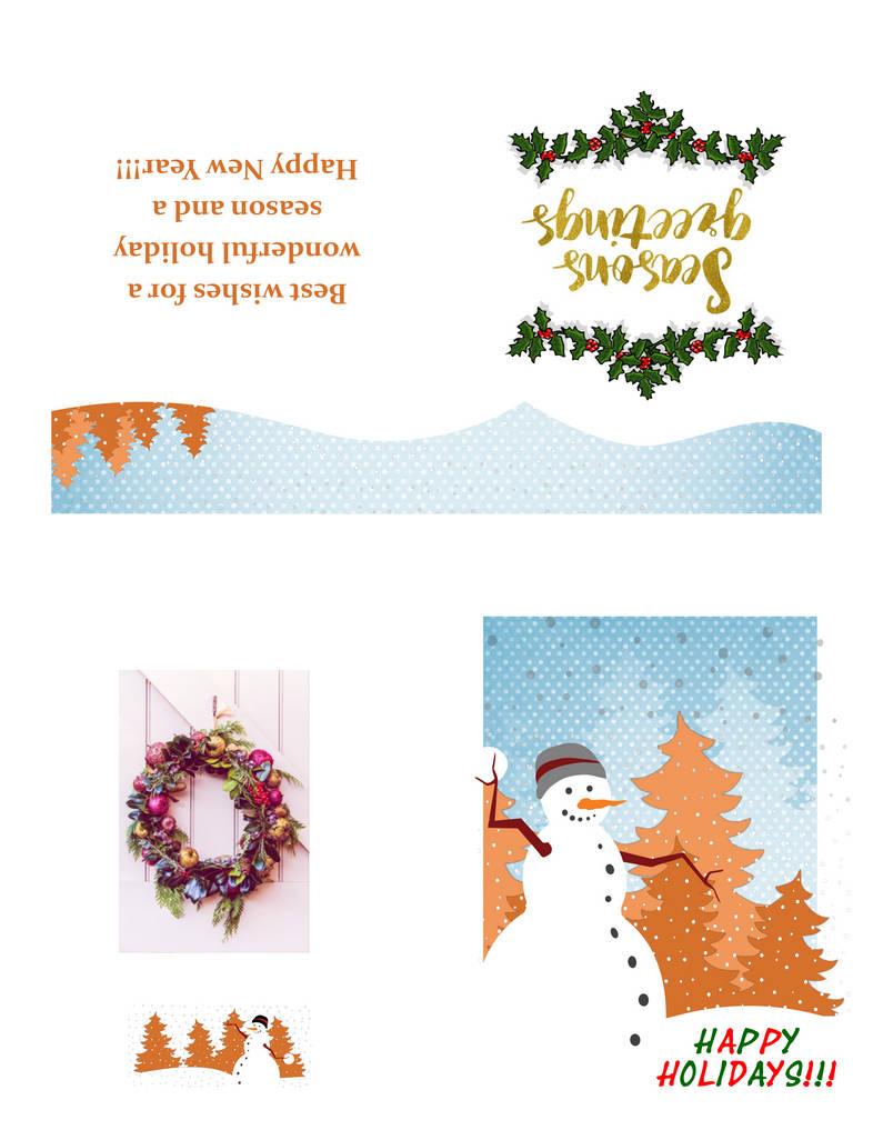 deviantART Holiday Card 2018 by MelMuff
