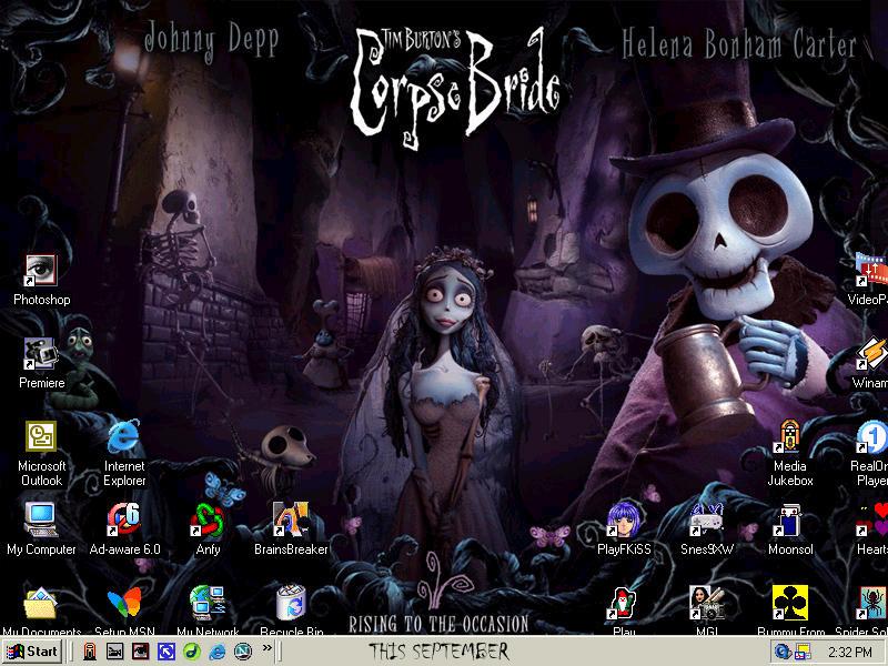 Mid September/October Desktop by MelMuff
