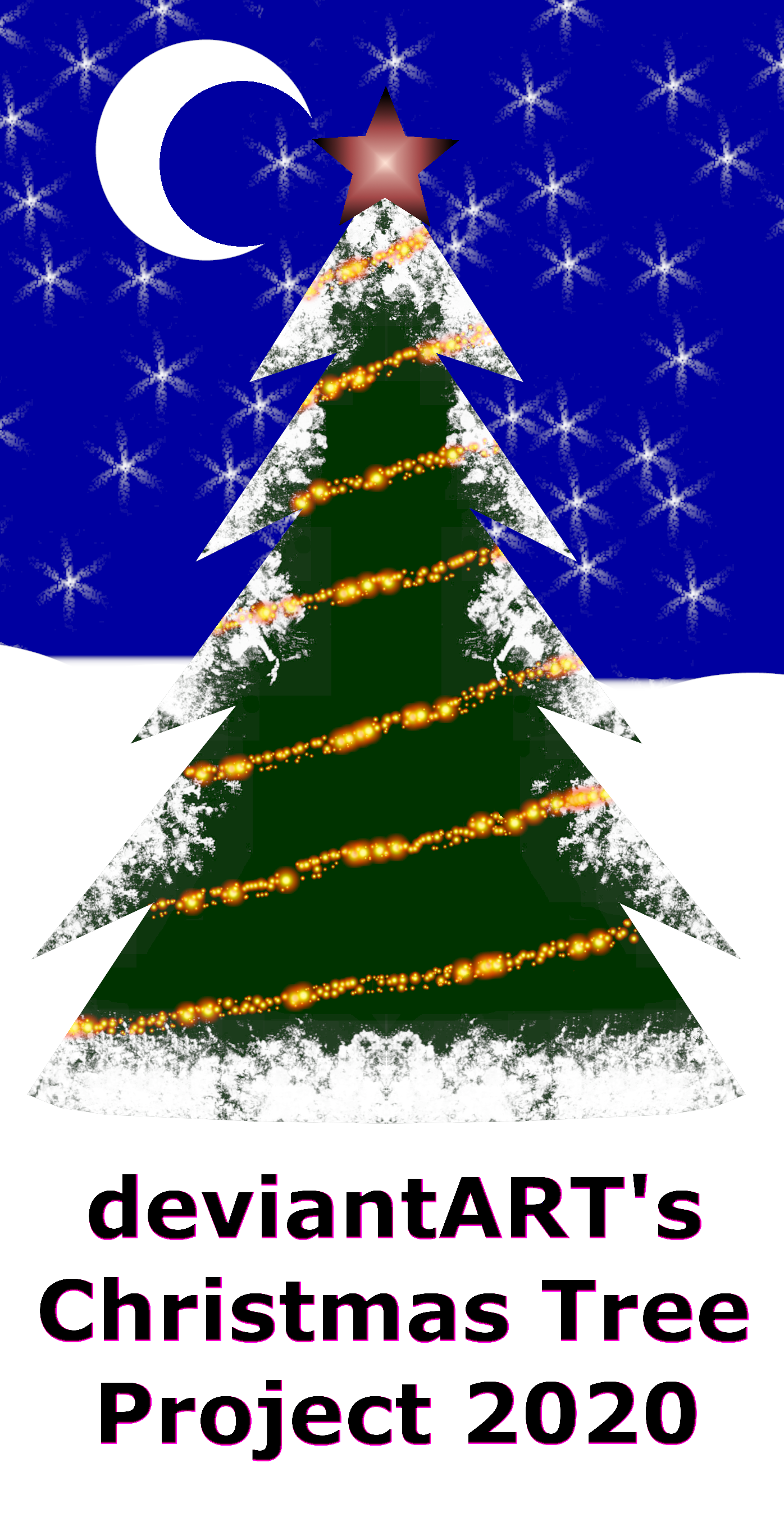 Christmas Tree Project 2020 deviantART's Official Christmas Tree Project 2020 by MelMuff on