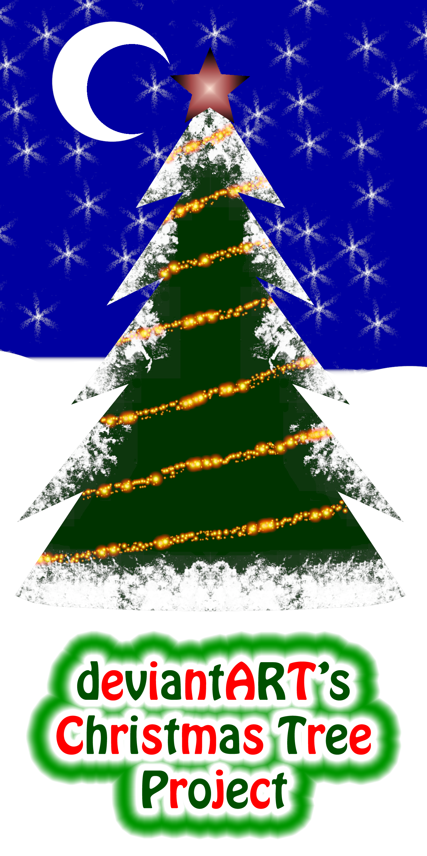Christmas Tree Project 2020 With Photos deviantART's Official Christmas Tree Project 2020 by MelMuff on