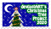 deviantART Christmas Tree Project 2020 Stamp