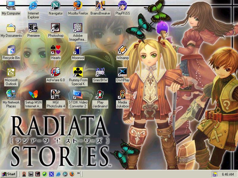 Radiata Stories Desktop By MelMuff