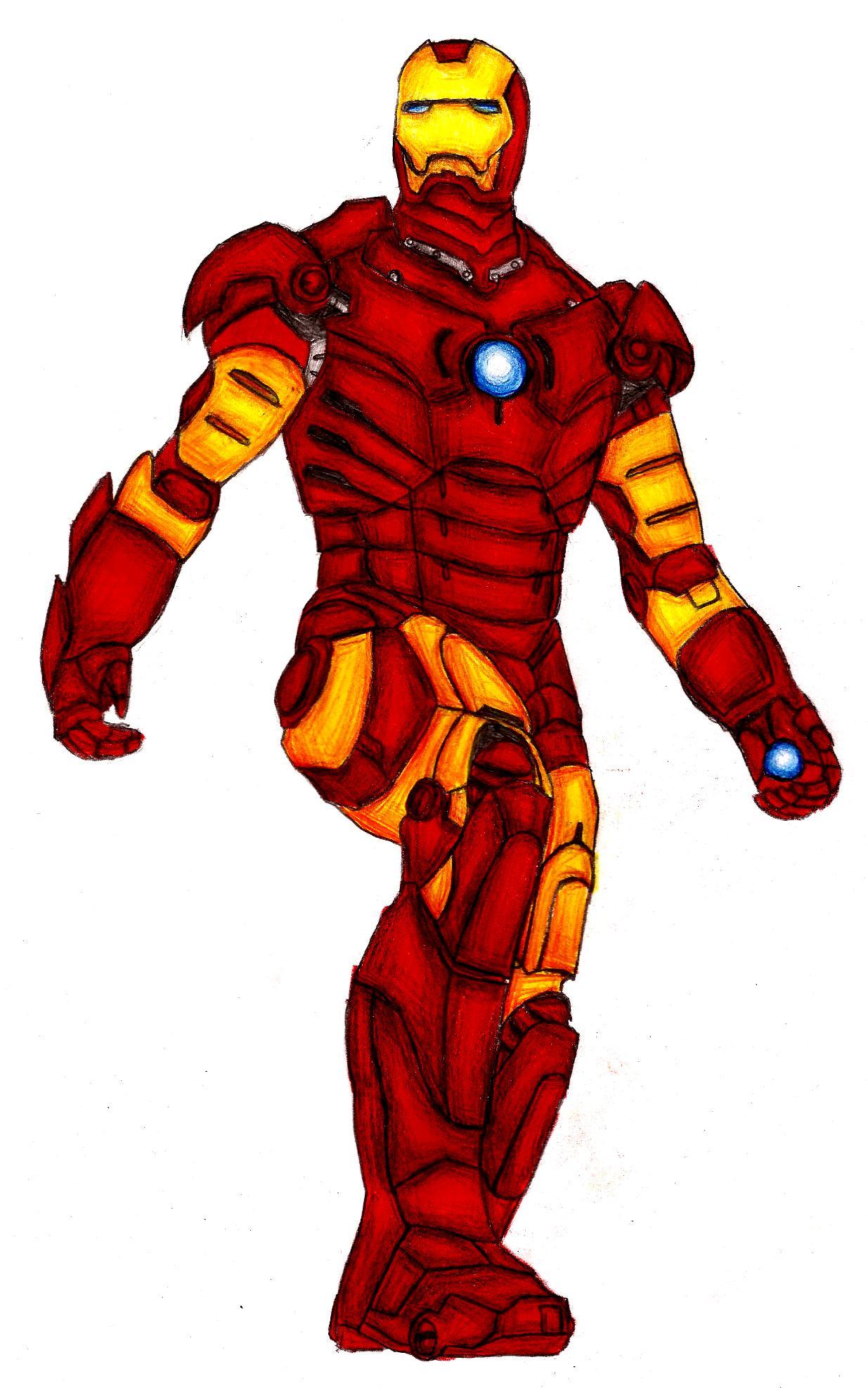 Iron Man! by IchBinJayne on DeviantArt