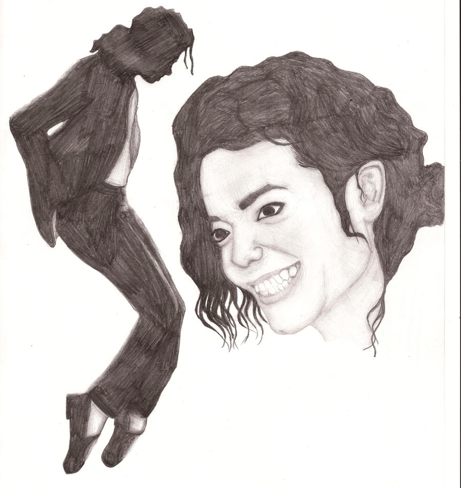 Michael Jackson (Old drawing :3) by IchBinJayne on DeviantArt