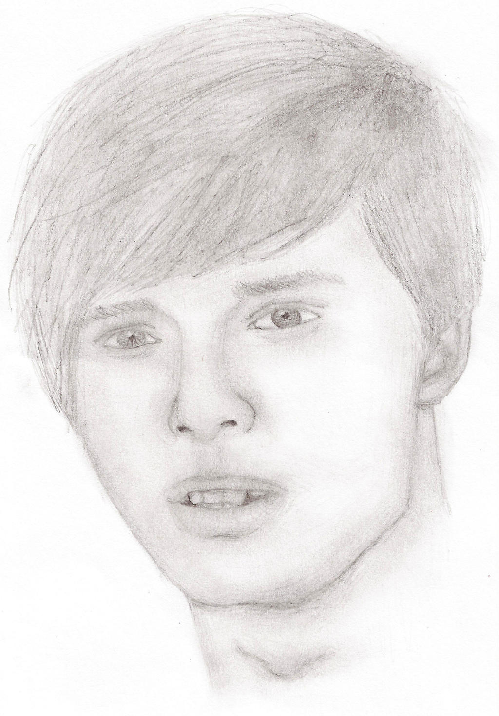 Bradley James (Speed Drawing) by IchBinJayne