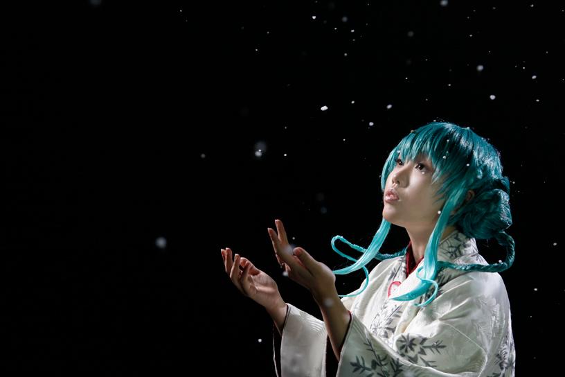 VOCALOID2:MikuHatsune by Ryo-ga
