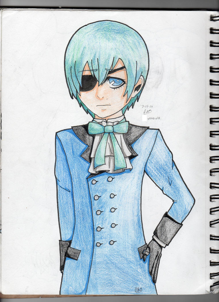 Ciel Phantomhive by AbiThePerson