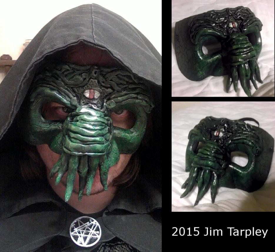 Cthulhu Cultist Mask by Mutt12