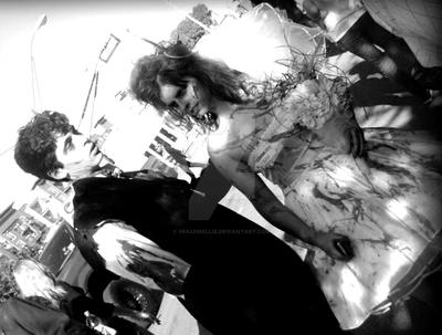 Zombiecouple by veachkellie