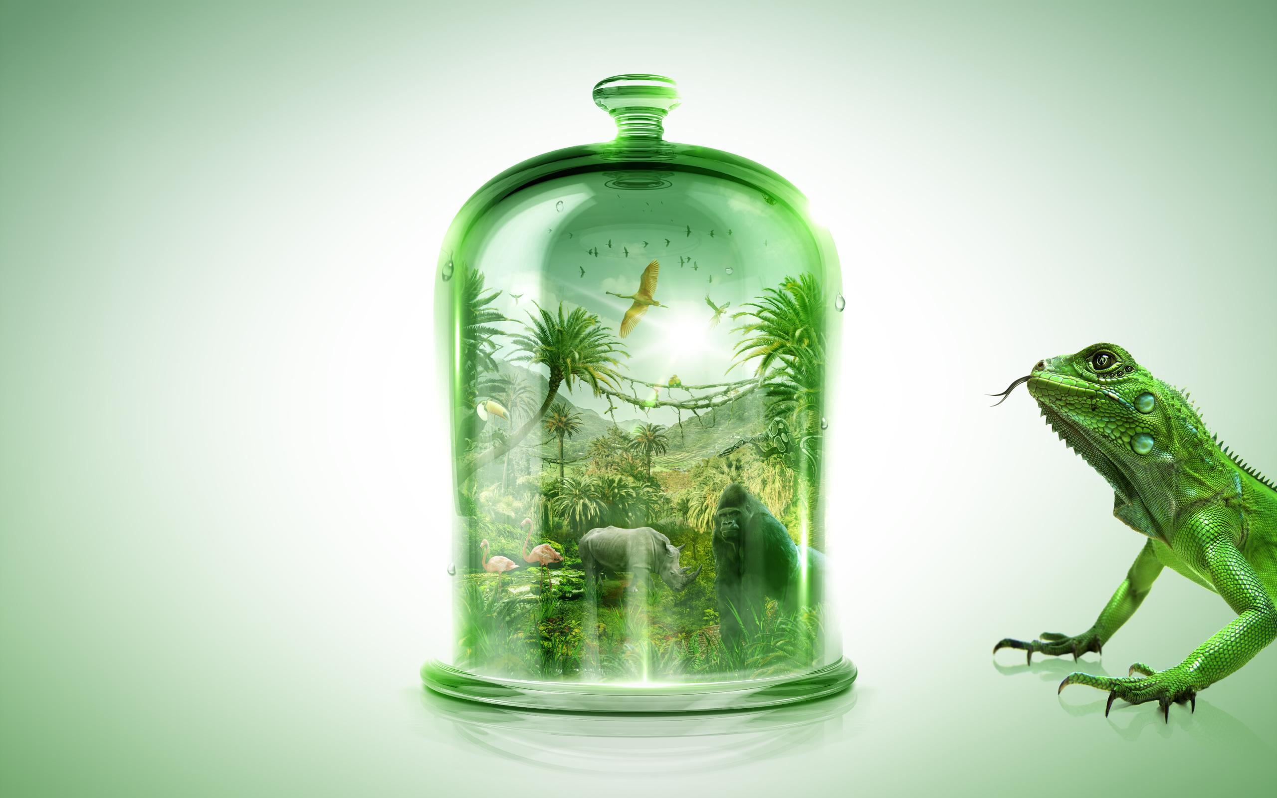 Small World 3 / Bell Jar by LAMBDA256