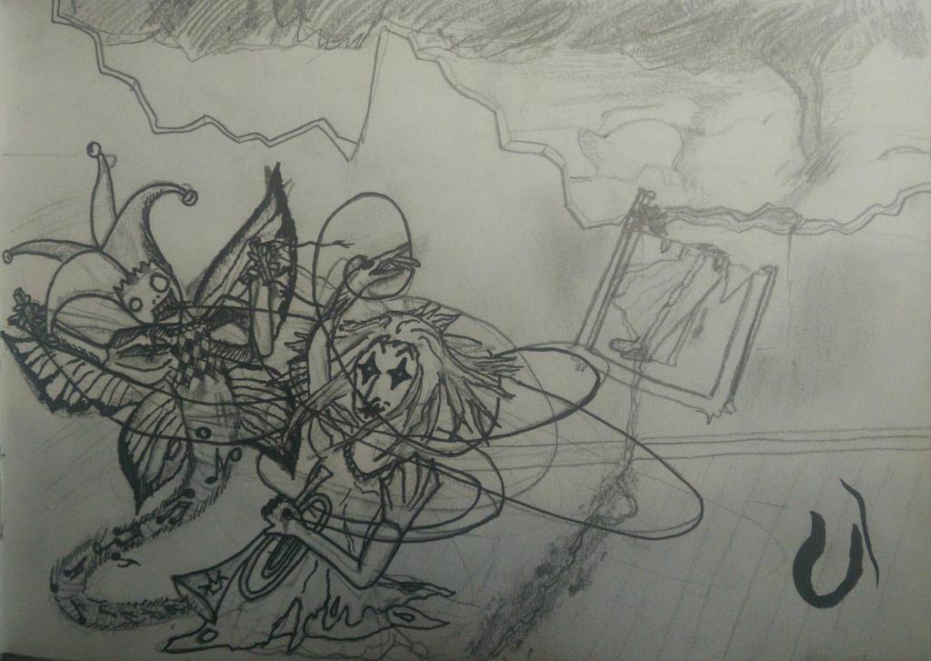 Le gnie dit : Bouffons des papillons by ZoukiWouki