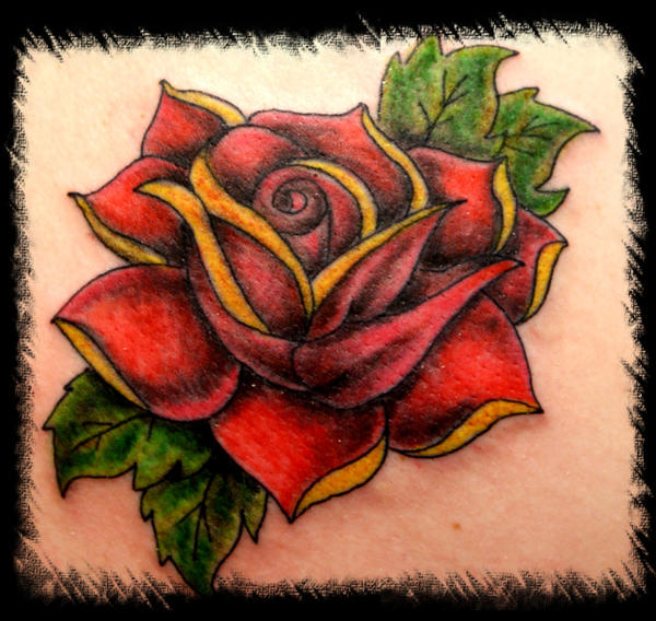 rose custom | Flower Tattoo